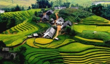 Travel Sapa area – Ta Phin Village of Sapa town, Vietnam